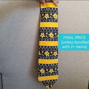 (FINAL $) St. Michael Marks & Spencer Yellow Tie